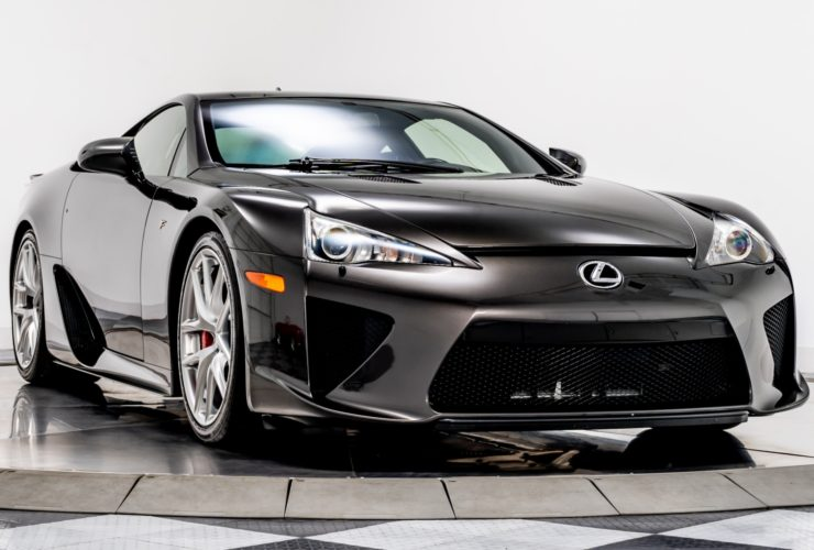 for-sale:-2012-lexus-lfa-with-only-500-miles