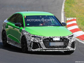 2022-audi-rs-3-spy-shots:-400-plus-horsepower-compact-sedan-coming