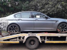bmw-m5-facelift-arrives-in-india-for-testing