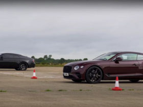 a-rolls-royce-wraith-and-a-bentley-continental-gt-walk-into-a-drag-strip