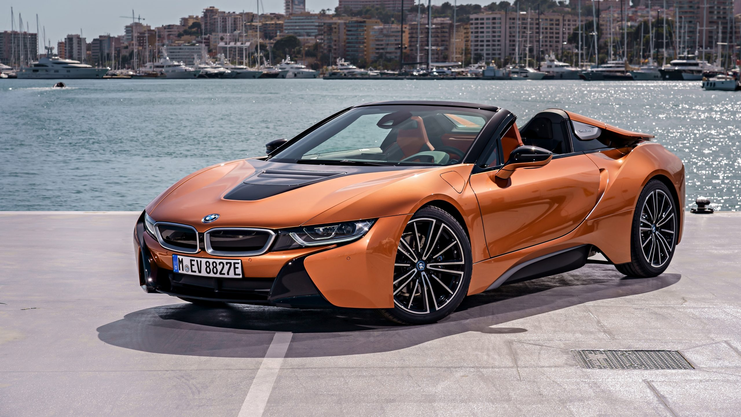 2018 Bmw I8 Roadster Wallpapers Viruscars