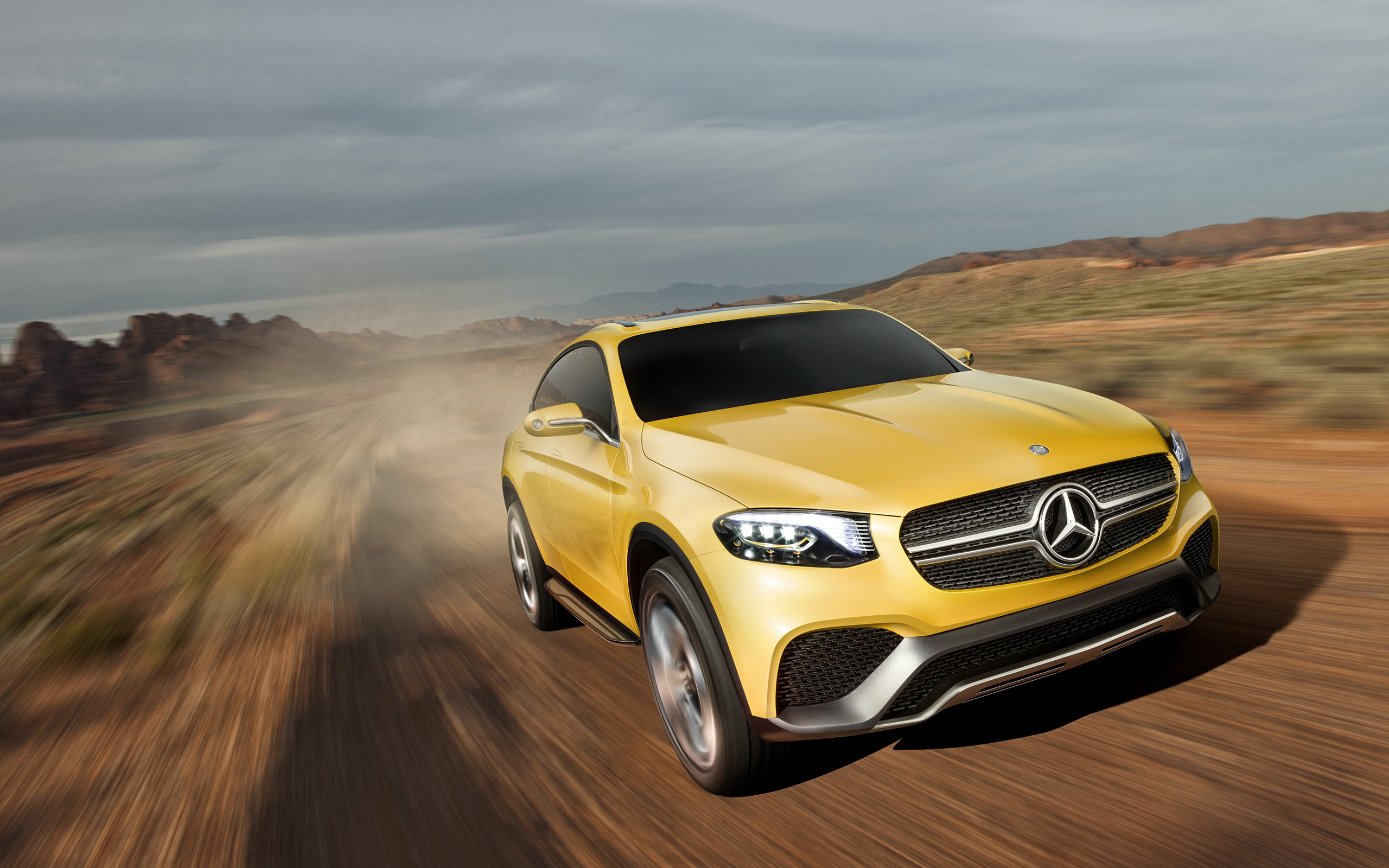 2015 Mercedes Benz Glc Coupe Concept Wallpapers Viruscars