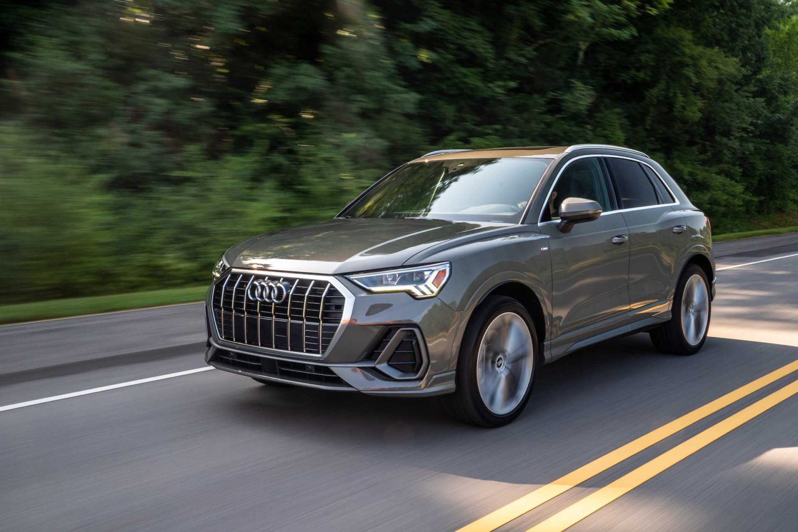 2021 audi q3 suv gets new trim, costs $35,095 | viruscars