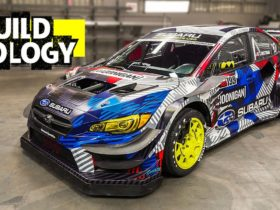 travis-pastrana's-subaru-wrx-sti-gymkhana-car-is-insane