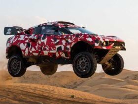 brx-hunter:-new-dakar-rally-contender-powered-by-ford,-designed-by-callum,-built-by-prodrive