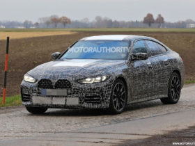 2022-bmw-4-series-gran-coupe-spy-shots:-4-door-coupe-on-the-final-stretch