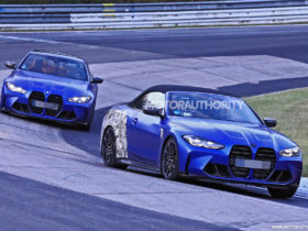 2021-bmw-m4-convertible-spy-shots:-performance-with-the-top-down