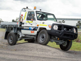 toyota-and-bhp-begin-trialling-electric-landcruiser-70-series