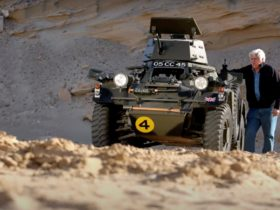 jay-leno-shows-off-his-military-surplus-1959-ferret-mk2-scout-car