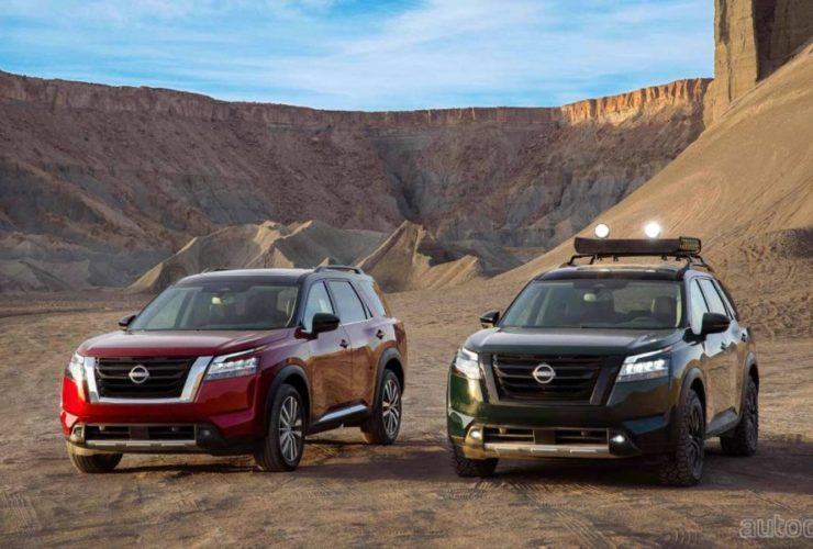 2022-nissan-pathfinder-debuts-with-new-design,-new-gearbox