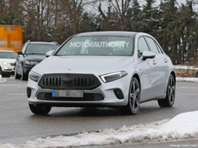 2023-mercedes-benz-a-class-hatchback-spy-shots:-mid-cycle-update-in-the-works