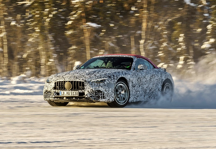 final-real-world-testing-of-next-generation-mercedes-amg-sl-now-underway