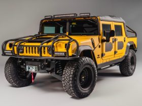 bright-yellow-mil-spec-m1-r-is-an-800-hp-go-anywhere,-look-at-me-off-road-hummer-h1