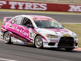 mitsubishi-lancer-evo-to-race-for-breast-cancer-research-at-bathurst