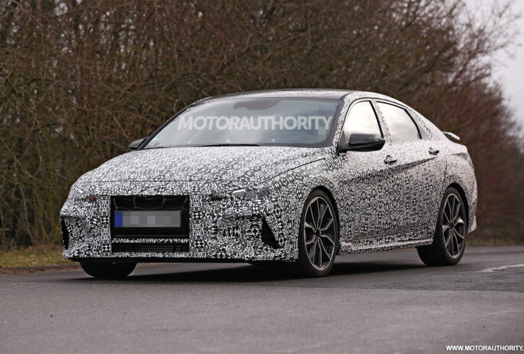 2022-hyundai-elantra-n-spy-shots:-turning-up-the-performance-dial-in-compact-arena
