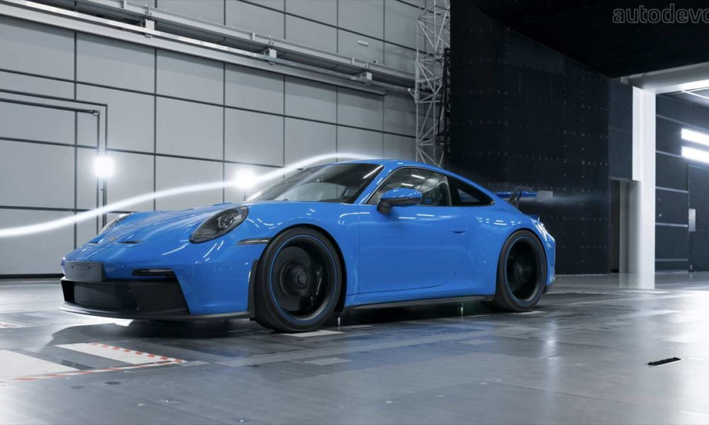 new-porsche-911-gt3-spent-160+-hours-in-the-wind-tunnel