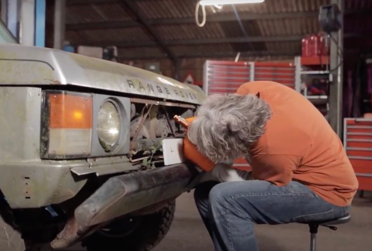 """edd-china-begins-work-on-a-neglected-1982-range-rover-in-""""workshop-diaries""""-episode-2"""