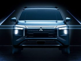 fully-electric-2022-mitsubishi-airtrek-teased,-based-on-the-outlander