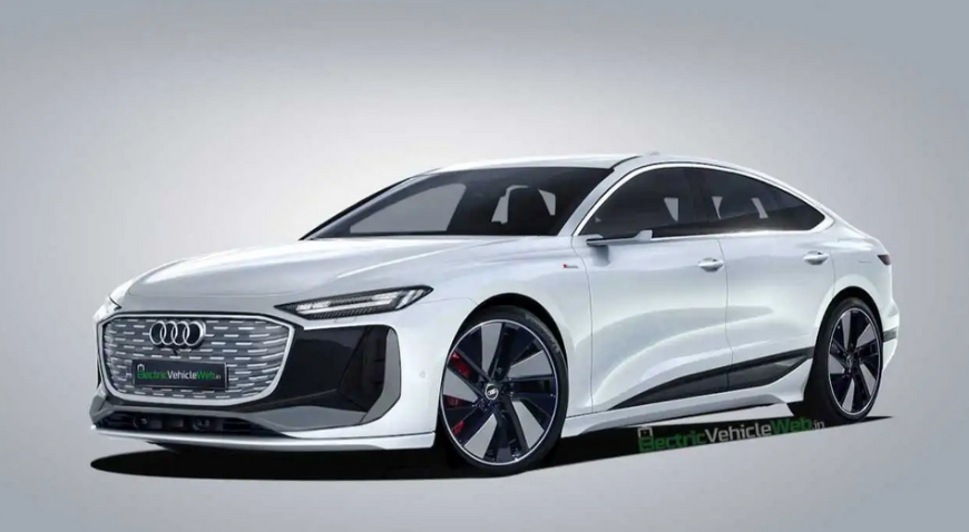 the-newest-electric-car-audi-a6-e-tron-showed-on-fresh-renders