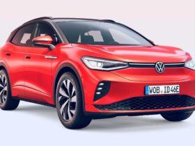 """volkswagen-unveils-""""charged""""-electric-crossover-id.4-gtx"""