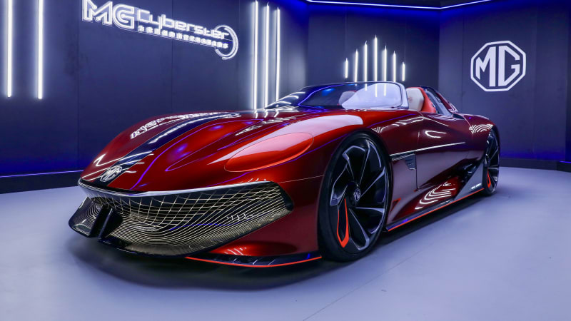 mg-cyberster:-electric-sports-car-confirmed-for-production,-australian-deliveries-on-the-cards