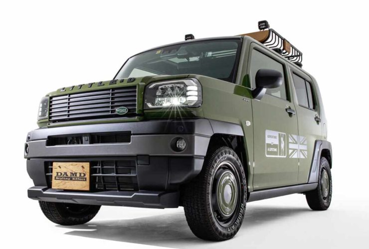 in-japan,-tuning-for-daihatsu-taft-was-released-for-the-style-of-the-80s-and-defender