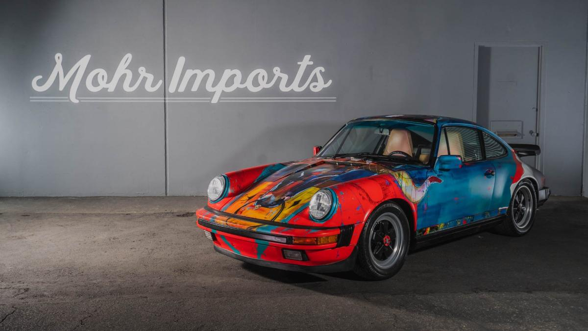 1989-porsche-911-carrera-converted-into-an-art-car