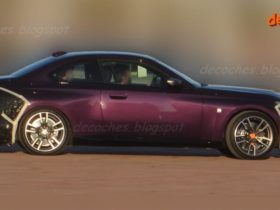2022-bmw-2-series-side-profile-spied-undisguised-with-box-arches,-sharp-lines