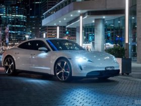 porsche-taycan-has-landed-in-australia-with-a-light-show