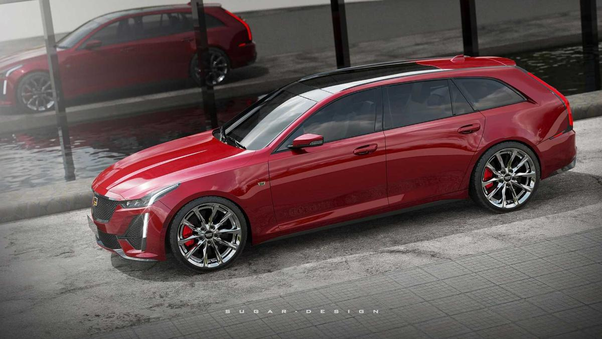 """rendering-of-the-""""charged""""-station-wagon-cadillac-ct5-sport-wagon-appeared-on-the-web"""