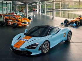 mclaren-720s-supercar-gets-special-gulf-oil-livery