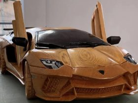 hypercar-lamborghini-aventador-s-carved-from-wood-at-a-scale-of-1:13