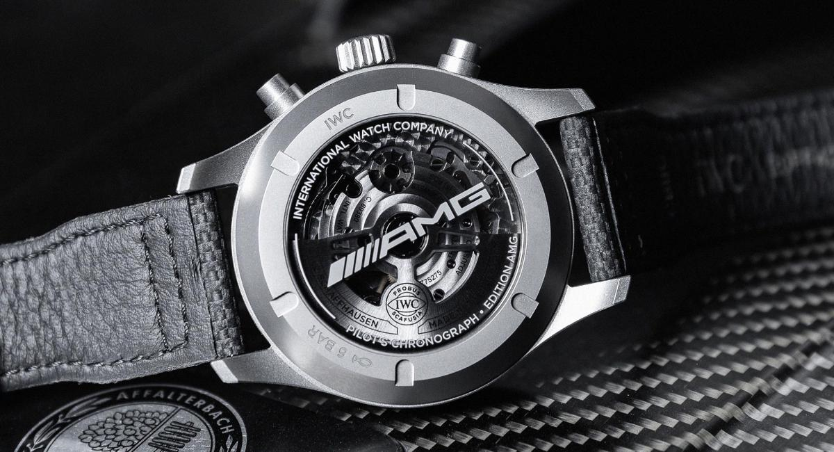 iwc-schaffhausen-and-mercedes-amg-announce-new-$-12,000-chronograph
