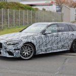 2023-mercedes-benz-amg-c63-wagon-spy-shots:-more-power,-fewer-cylinders