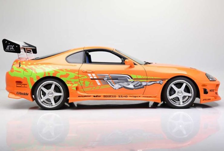 paul-walker's-toyota-supra-from-fast-&-furious-heads-to-auction