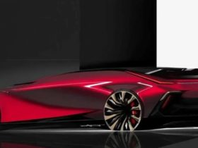 general-motors-presented-a-sketch-of-a-strange-car-without-doors
