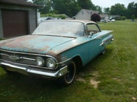 unrestored-1960-chevrolet-impala-sitting-for-years-is-back-with-the-original-v8