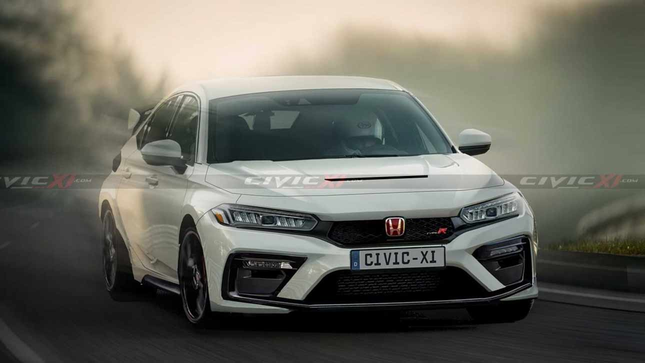 honda-announced-the-debut-of-the-updated-civic-type-r-in-2022