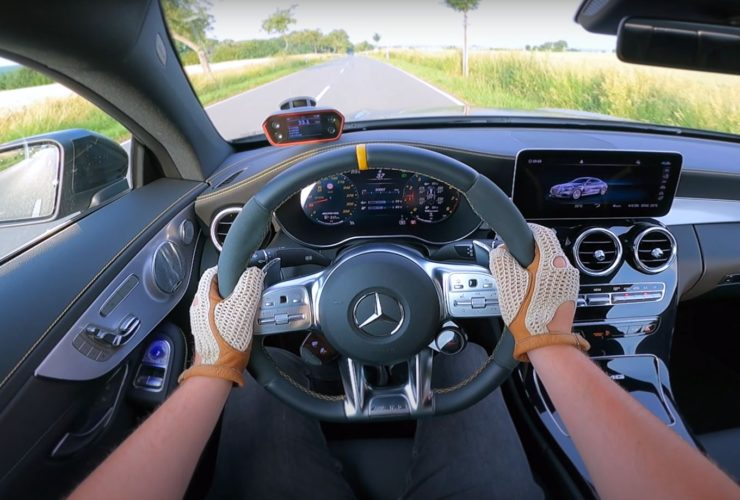 new-mercedes-amg-c63-s-coupe-does-an-autobahn-top-speed-run,-doesn't-hit-200-mph