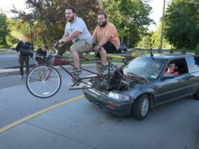 pedal-powered-1989-honda-civic-is-one-green-(but-not-very-mean)-machine