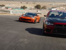 corvette-c7-z06-challenges-evo-x-to-a-time-attack-session,-can-only-end-one-way