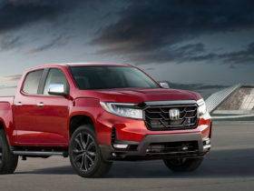 modern-honda-tourmaster-pickup-imagined-with-colorado-body,-ridgeline-front-end