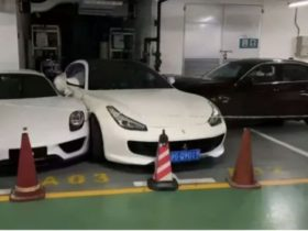 terrible-wife-slams-into-husband's-gtc4lusso-and-918-spyder-with-bmw-after-fight