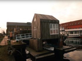 tiny-boathouse-is-one-relaxing-hotel,-floats-without-a-care-in-the-world