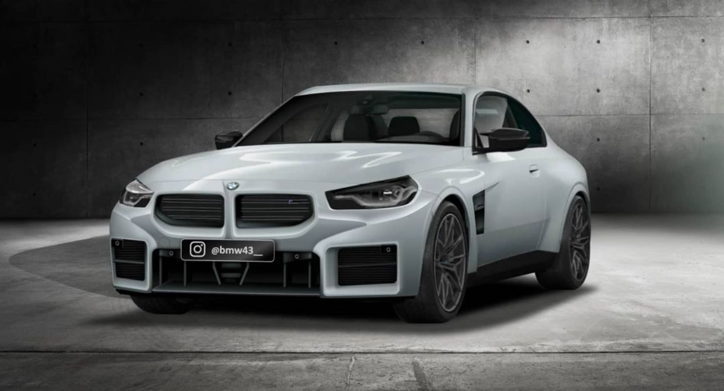 2023-bmw-m2-g87-rendered-with-leaked-front-bumper