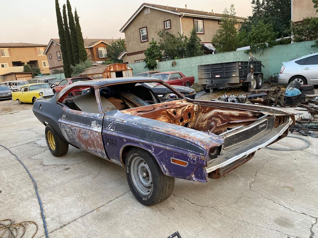 original-1970-dodge-challenger-t/a-is-a-rare-bird,-lost-some-feathers-in-transit
