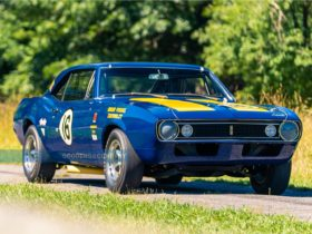 the-iconic-1967-chevrolet-camaro-z/28-raced-by-mark-donohue-is-up-for-grabs