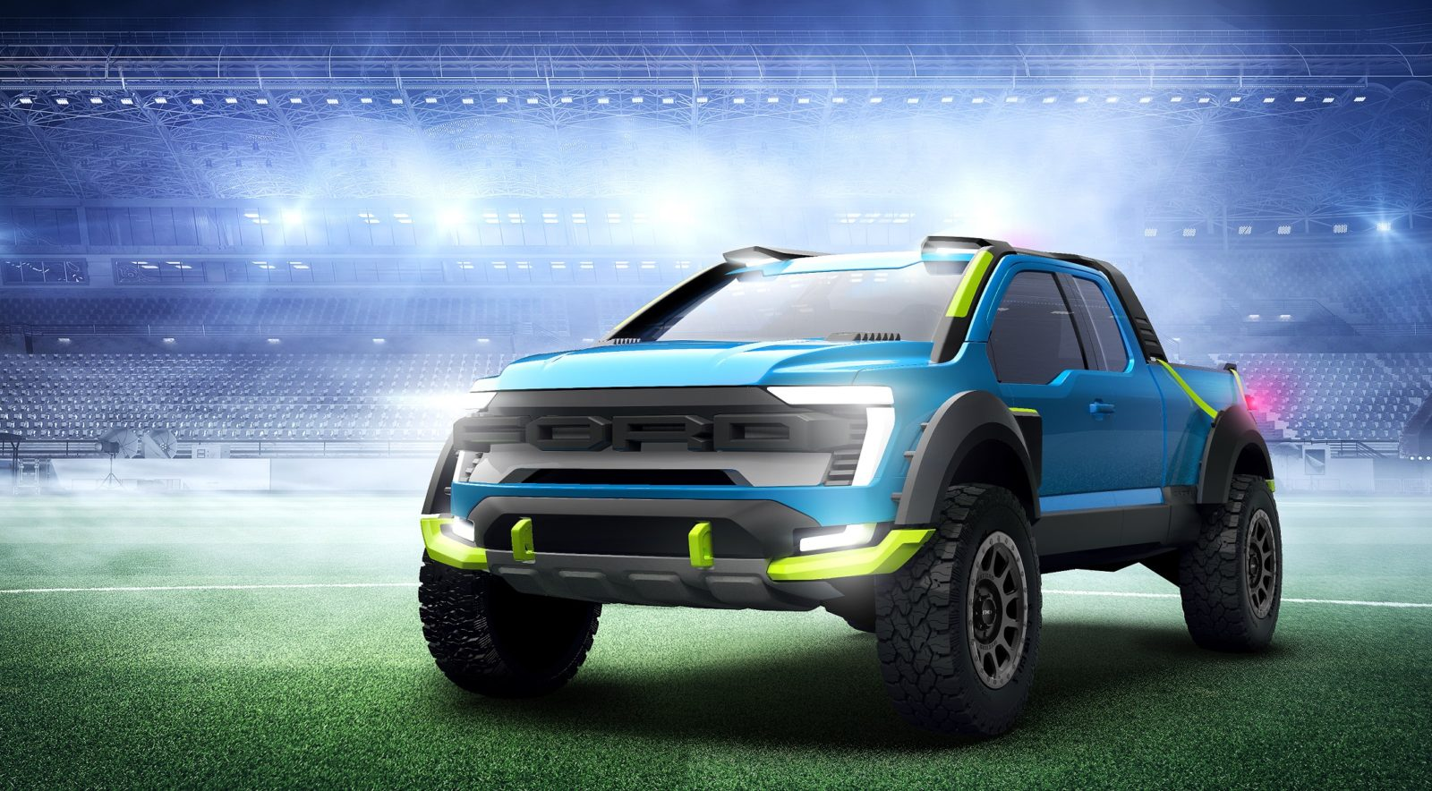 rocket-league-ford-f-150-lands-in-chicago,-go-see-it-at-cas