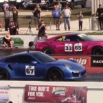 911-turbo-s-drags-mclaren-720s-and-twin-turbo-lambo,-pink-gt-r-steals-the-crown