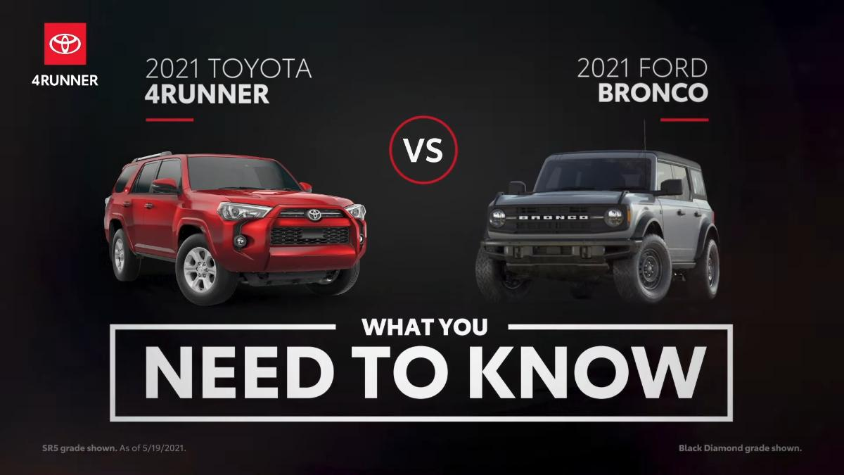 toyota-compares-its-2021-4runner-suv-to-the-ford-bronco